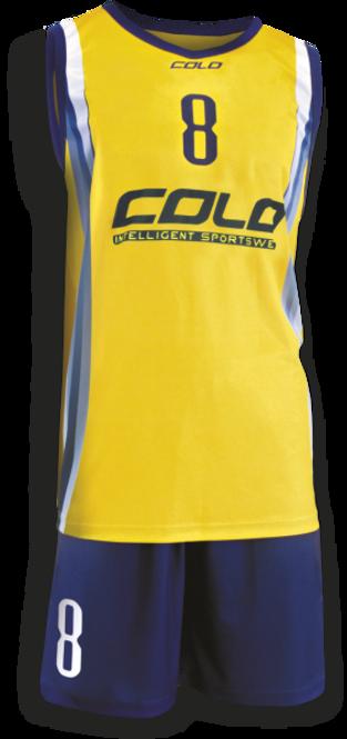 Strój do koszykówki Colo Batch - SUBLIMACYJNY