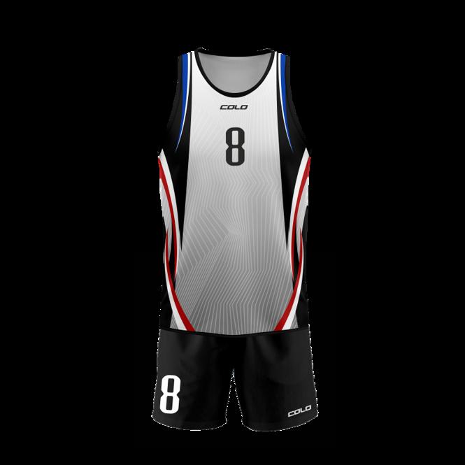 Strój do siatkówki plażowej Colo Chilli - SUBLIMACYJNY
