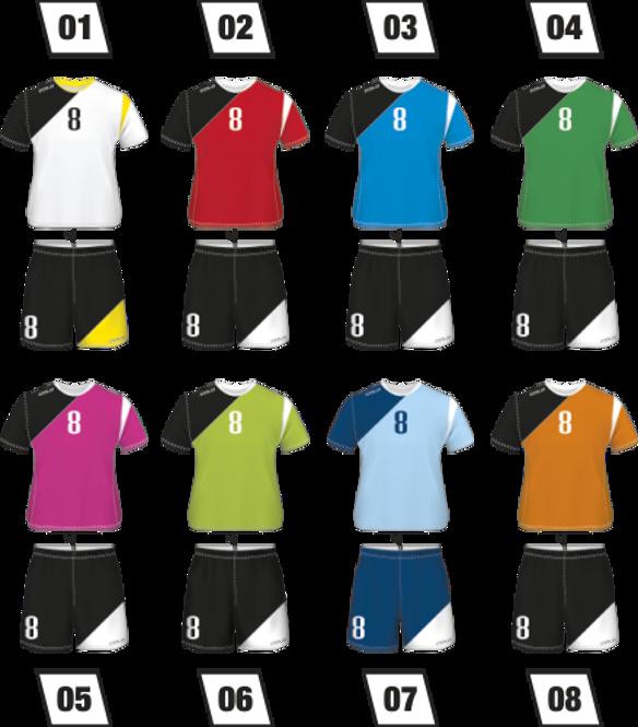 Strój piłkarski Colo Club