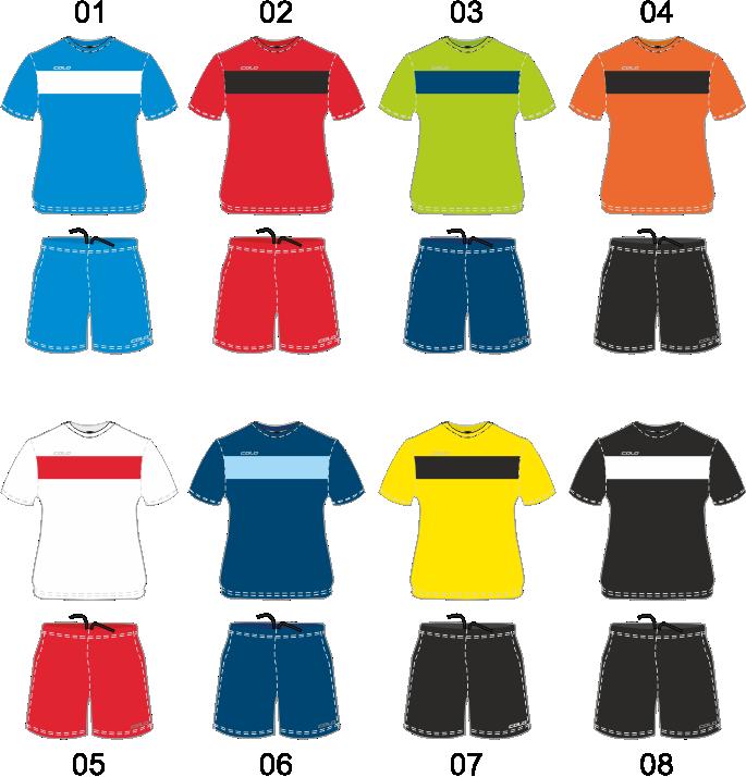 Strój piłkarski Colo Zona